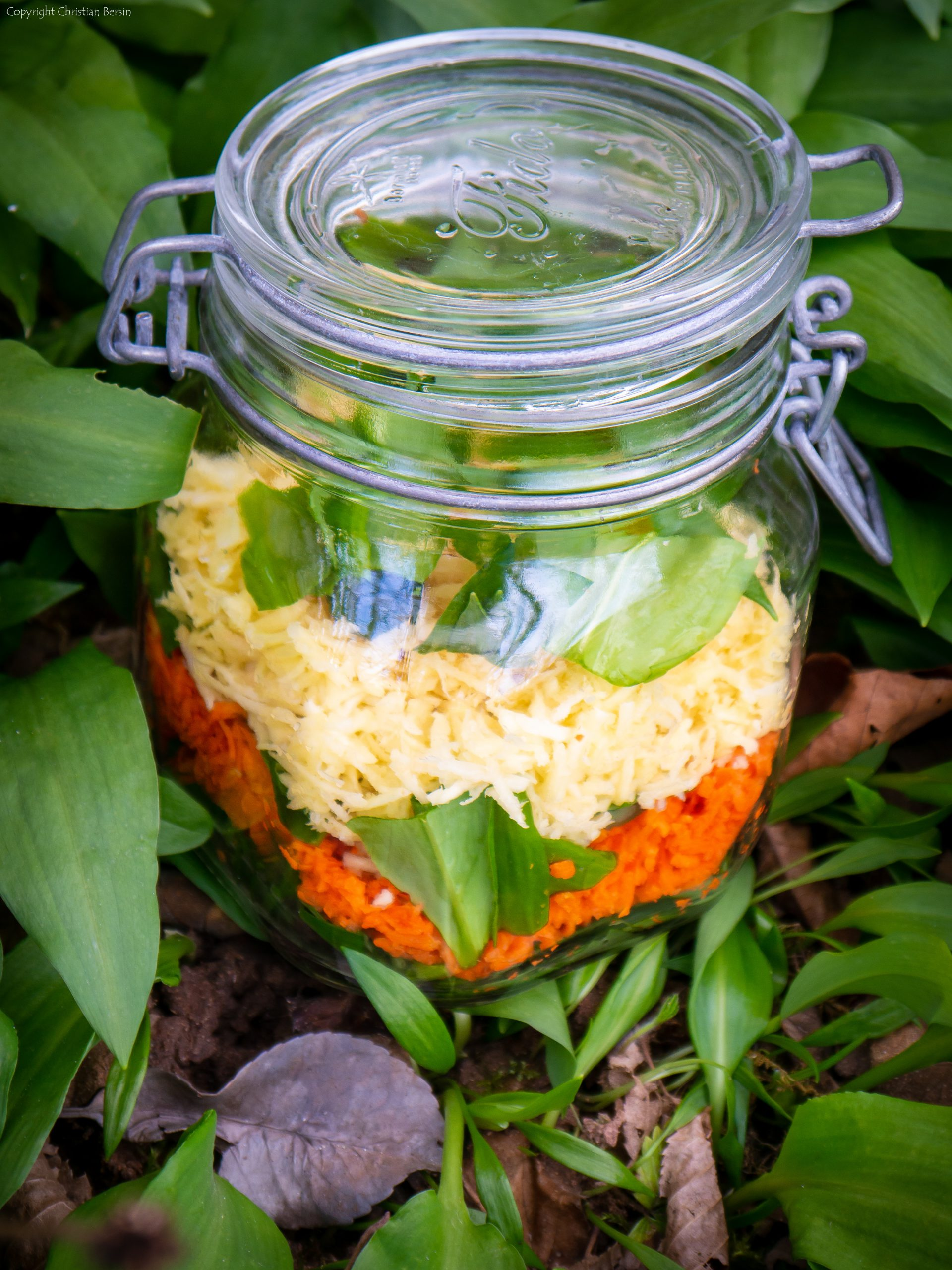 Bärlauch Salat TO GO